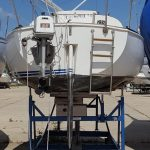24ft Sailboat with Cradle